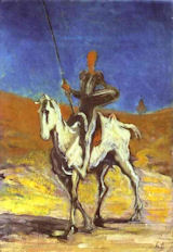 Don Quixote, Honore Daumier