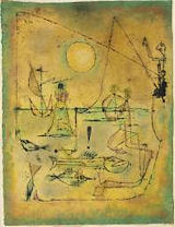 Paul Klee, They're biting, Tate Gallery