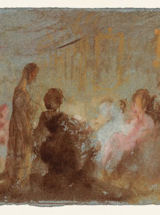 Turner, Conversation Group, detail
