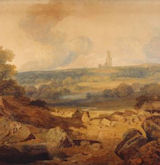 Turner, East View, Fonthill
