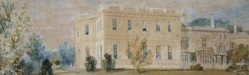JMW Turner, Farnley Hall East, detail