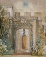 Turner, Front Door and Porch, Farnley Hall