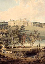 JMW Turner, Harewood House from south-west