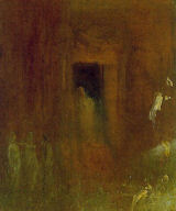 Turner, Interior East Cowes Castle, Detail