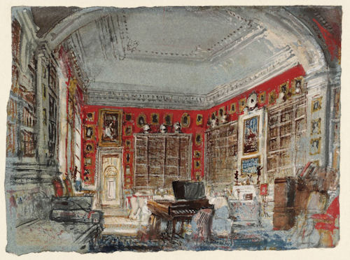 Turner, Petworth, White Library